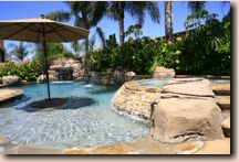 California pool design gunite inground pools construction - Above ground swimming pools tyler texas ...